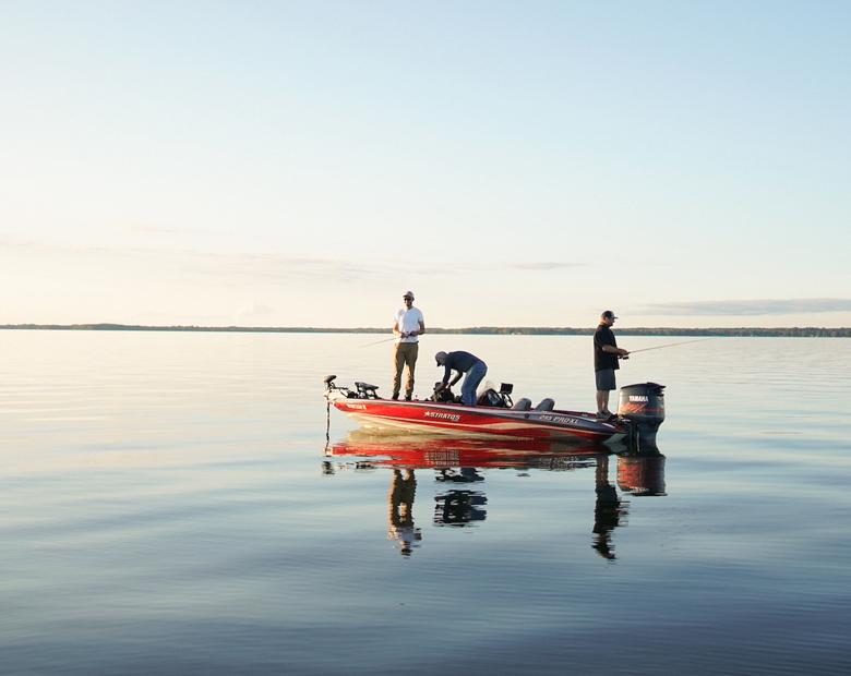 Douglas Outdoors Fall Bass Fishing Home 1