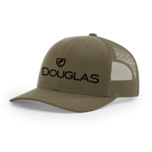 Douglas Outdoors High Crown Hat Army Green 300x300