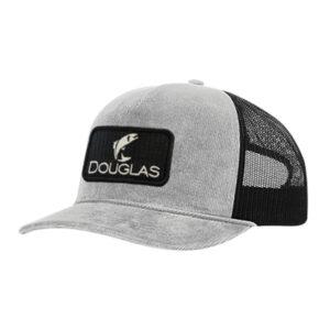 Douglas Outdoors High Crown Hat Gray Corduroy 300x300