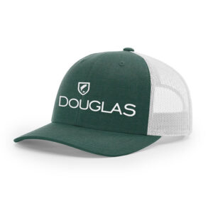 Douglas Outdoors Low Crown Hat Heather Dark Green Light Grey 300x300