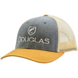 Douglas Outdoors Low Crown Hat Heather Gray Birch Gold 300x300