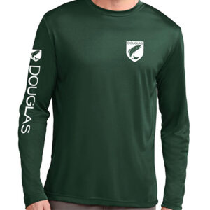 Douglas Outdoors Sport Performance Long Sleeve Green Front 300x300